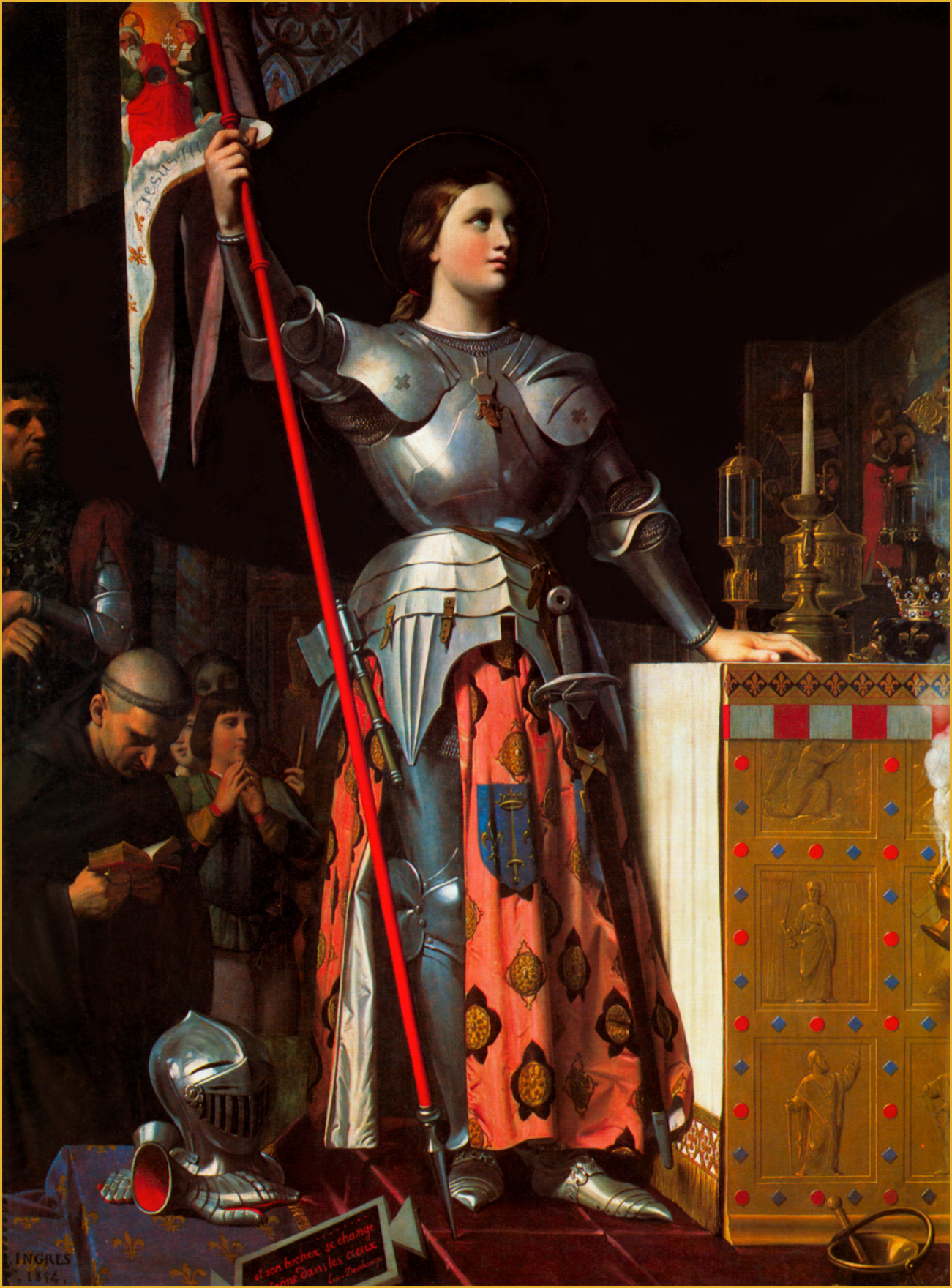 How does the joan of arc inquisition compare to now?